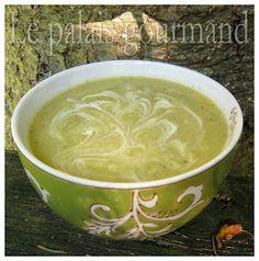 Le palais gourmand: Crème de brocoli et de chou-fleur
