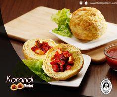 Nothing can beat the taste of Karandi Omlet at THALAPPAKATTI RESTAURANT  www.thalappakatti.com | 044-26194300 / 26194200  #Food #foodie #Thalappakatti #Chicken #Fish #Egg #Mutton #Restaurant