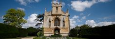 St. Mary's Church at Sudeley Castle, Winchcombe, Gloucestershire, The Church as it stands today was restored between 1855 and its rededication in 1863 by the Dent family after being sat in ruins as a result of the Civil War. Queen Katherine Parr lies entombed in the Church, the only English Queen to be buried on private land. Weddings