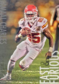 Jamaal Charles...KC Chiefs #25