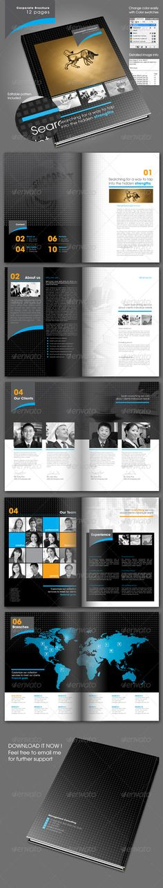 Consulting Brochure 12 pages - Corporate Brochures