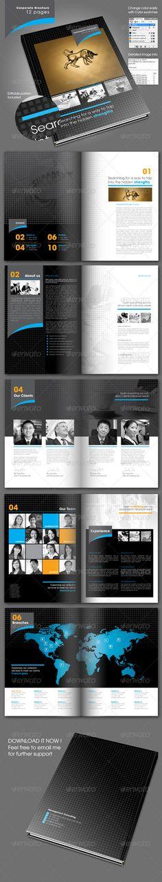 Great corporate design brochure