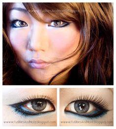Gyaru look, japanese make up, japanese, japanese makeup, gyaru makeup, makeup tutorial,asian beauty, asian, sexy asian, maquillage, japonais...