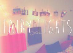 Fairy lights •