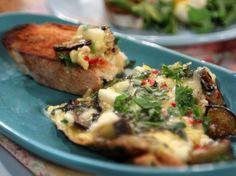 Frittata de berenjenas y queso | Narda Lepes