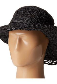 San Diego Hat Company RHL3085 Crochet Raffia Sun Brim Hat (Black) Traditional Hats - San Diego Hat Company, RHL3085 Crochet Raffia Sun Brim Hat, RHL3085, Hats Traditional General, Traditional, Traditional, Hats, Gift, - Fashion Ideas To Inspire