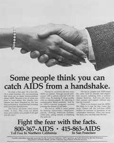 This 1980′s HIV/Aids Ad Campaign ' Fight the Fear with the Facts ...