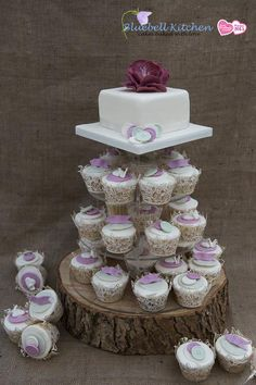 Bonkers about buttons? Then check out our wedding cupcake towers inspired by beautiful buttons with a vintage theme.