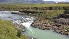 Hrútey, eine Insel auf der Insel - Iceland / Island