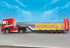 Playmobil - 5467 - Figurine - Tracteur Routier Avec Grande Remorque: Amazon.fr: Jeux et Jouets