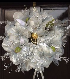 1000+ images about deco mesh ~ tulle ~ fabric wreaths on