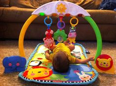 Charming Fisher Price   Discover U0027n Grow Tracking Lights Musical Gym For Baby