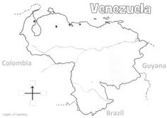 Venezuela country study, printable map, recipe and activities for kids