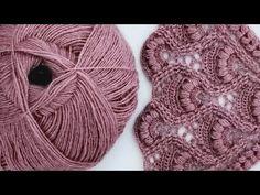 Crochet Stitches Patterns, Knitting Stitches, Baby Knitting, Stitch Patterns, Knitting Patterns, Crochet Shawl, Crochet Lace, Bolero Pattern, Crochet Videos
