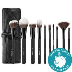SEPHORA COLLECTION- Ready To Roll Brush Set