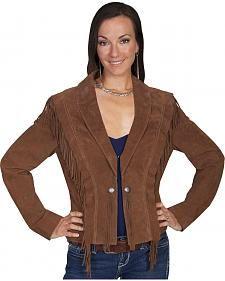 Scully Bolero Fringe Suede Jacket