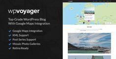 WPVoyager Themeforest Travel Blog WordPress Theme