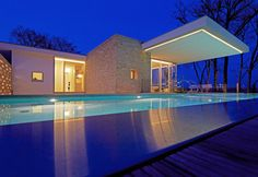 High Quality Beleuchteter Pool Am Abend Idea