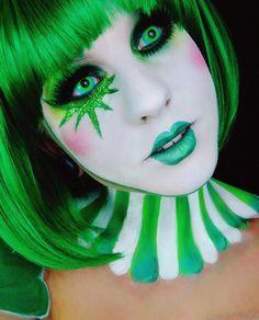 #clown #circus #makeup #facepaint