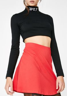 515e18303 American Deadstock Basic Needs Mini Skirt got ya lookin' cute af. Stand out  in