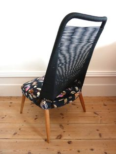 Mid Century Cocktail Chair in House of Hackney Fabric