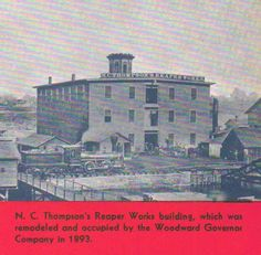 The Woodward Governor Company in 1893.
