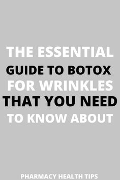 What a quick but informative read! I did not know Botox can cause eye drooping. Luckily, it is only temporary. After reading this article I now know I should lookup an experienced ophthalmologist… More Under Eye Wrinkles, Under Eye Puffiness, Face Wrinkles, Eye Treatment, Natural Wrinkle Remedies, Under Eye Hollows, Muscles Of The Face, Wrinkle Remover