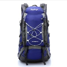43.01$  Know more  - Mountaineering bags Outdoor Double shoulder backpack Waterproof  Women Men Camping Travel Hiking bag backpacks mochila camping
