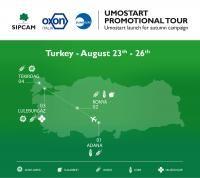 Umostart launch for autumn campaign – Turkey TourDuring the week N°34 – 2016…