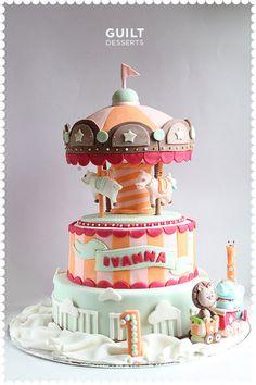 Carousel Cake #2