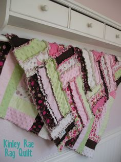 The Kinley Rae Rag Quilt PATTERN by ForYearsToCome on Etsy, $9.00