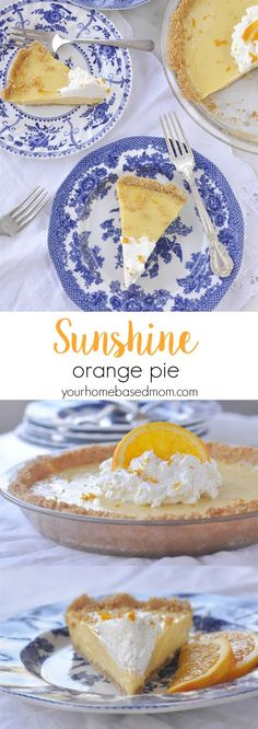 Sunshine Orange Pie