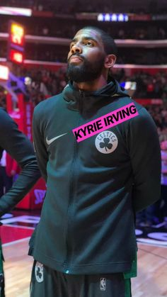 Kyrie looks so ready for this game. 😂😋 he puts so much work and effort into this game he definitely deserves a champion ship. Basketball T Shirt Designs, Best Basketball Shoes, Basketball Pictures, Sports Basketball, Basketball Players, Basketball Court, Kyrie Irving Celtics, Kyrie Irving 2, Top Nba Players