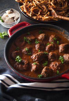 Vegan Meatballs – Nina's Vegan Recipes