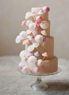 pink mushroom cake!