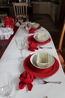 Napkin Roses for a dinner party.  Step by step tutorial.