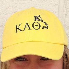 61800023 Kappa Alpha Theta Hat - Color Mascot Total Sorority Move, Sorority Bid Day,  College