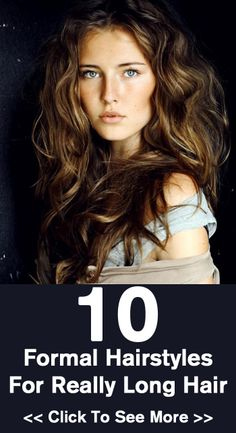 10 Formal Hairstyles For Really Long Hair