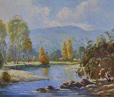 Ovens River, Bright, Victoria