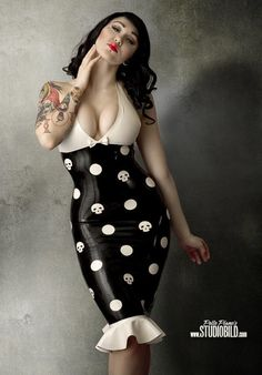 Rockabilly, Latex, Pin up, Tattoos, Stunning