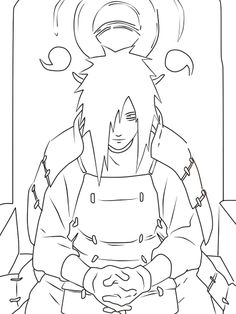 madara uchiha coloring pages