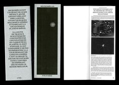 """whokillsgraphicdesign: """" micromégas designed by antoine elsensohn https://www.behance.net/AntoineElsensohn """""""