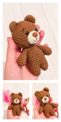 Crochet Hooks, Free Crochet, Small Teddy Bears, How To Make Scarf, Yarn Tail, Alpaca Wool, Stitch Markers, Amigurumi Doll, Single Crochet