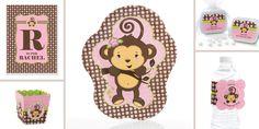 Monkey-Girl-Birthday-Party-Theme