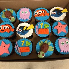 Finding Nemo custom order, for Rylan's first birthday!