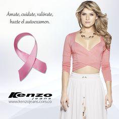 Kenzo Jeans se suma al rosa. 19 de octubre, #DiaContraelCancerdeMama #SúmateAlRosa #KenzoJeans