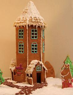 Moomin gingerbread house!