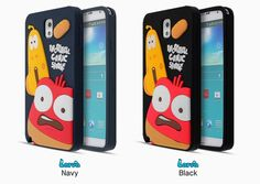 LARVA CARTOON 3D FUNNY SILICONE PHONE CASE FOR GALAXY S4