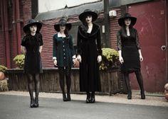 Summertime goth. The Black Belles