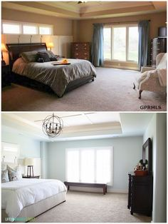 Before and after home tour